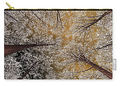 Carry-all Pouch featuring the photograph Whiteout by Tony Beck