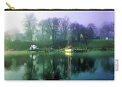 Carry-all Pouch featuring the photograph White's Cove Awakening by Brian Wallace