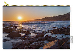 White's Point Sunset Carry-all Pouch by Ed Clark