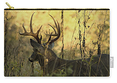 Whitetail Buck At Sunrise Carry-all Pouch
