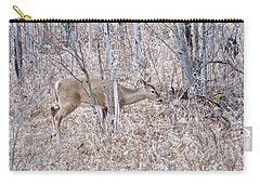 Carry-all Pouch featuring the photograph Whitetail Deer 1171 by Michael Peychich