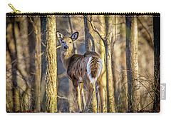 Whitetail Winter Morning Carry-all Pouch