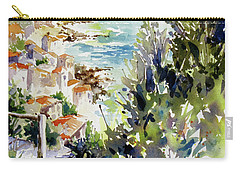 Whitewashed Vista Carry-all Pouch by Rae Andrews