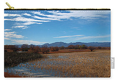 Carry-all Pouch featuring the photograph Whitewater Draw by James Peterson