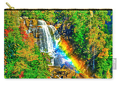 Whitewater Rainbow Carry-all Pouch