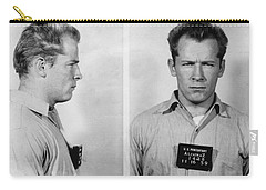 Whitey Bulger Mug Shot Carry-all Pouch by Edward Fielding