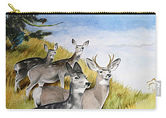 Who Goes There Carry-all Pouch