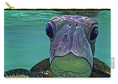 Carry-all Pouch featuring the painting Who Me? by Darice Machel McGuire