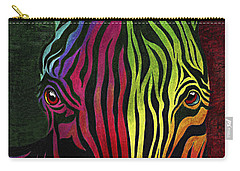 Carry-all Pouch featuring the painting What Are You Looking At by Peter Piatt
