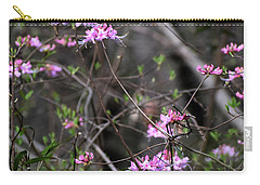 Carry-all Pouch featuring the photograph Who Put The Wild In Wildflowers by Skip Willits