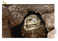 Who's There Carry-all Pouch by Phyllis Denton