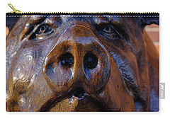 Carry-all Pouch featuring the photograph Why Me by Glenn DiPaola