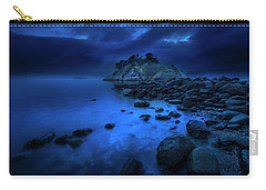 Carry-all Pouch featuring the photograph Whytecliff Dusk by John Poon