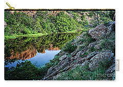 Wichita Mountain River Carry-all Pouch by Tamyra Ayles