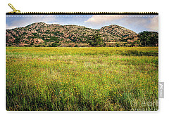 Wichita Mountain Wildflowers Carry-all Pouch by Tamyra Ayles