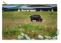 Wichita Mountain Wildlife Reserve Welcome Center Verticle Carry-all Pouch