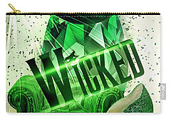 Carry-all Pouch featuring the digital art Wicked by Mo T