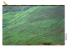 Carry-all Pouch featuring the photograph Wicklow Pastoral by Jenny Rainbow