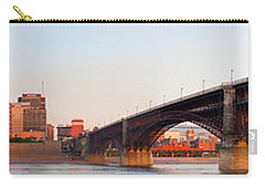 Wide View Of St Louis And Eads Bridge Carry-all Pouch