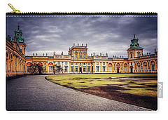 Carry-all Pouch featuring the photograph Wilanow Palace In Warsaw  by Carol Japp