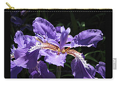 Wild About Iris Carry-all Pouch