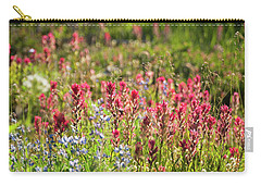 Wild About Wildflowers Carry-all Pouch