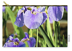 Wild Alaskan Irises IIi Carry-all Pouch