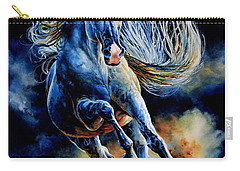 Carry-all Pouch featuring the painting Wild And Free by Hanne Lore Koehler