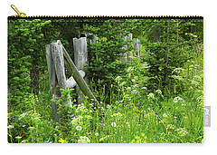 Carry-all Pouch featuring the photograph Wild And Wildflowers by Marie Leslie