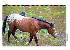Wild Appaloosa Stallion Carry-all Pouch