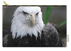 Wild Bald Eagle Bird Carry-all Pouch by DejaVu Designs