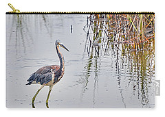 Wild Birds - Tricolored Heron Carry-all Pouch