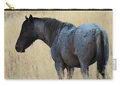 Wild Blue Mustang Carry-all Pouch