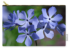 Carry-all Pouch featuring the photograph Wild Blue Phlox Dspf0386 by Gerry Gantt