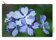 Carry-all Pouch featuring the photograph Wild Blue Phlox Dspf0387 by Gerry Gantt