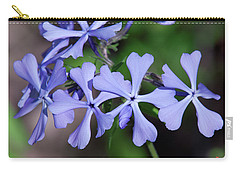 Carry-all Pouch featuring the photograph Wild Blue Phlox Dspf0392 by Gerry Gantt