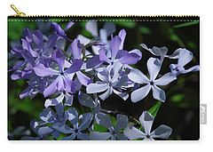 Carry-all Pouch featuring the photograph Wild Blue Phlox Dspf0395 by Gerry Gantt