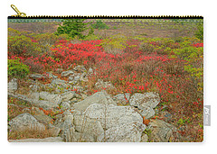 Wild Blueberries Carry-all Pouch