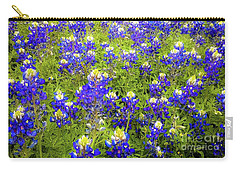 Wild Bluebonnets Blooming Carry-all Pouch