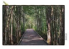 Wild Boardwalk Carry-all Pouch by Kenneth Albin