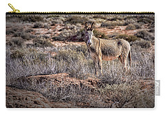 Wild Burro Of Utah Carry-all Pouch