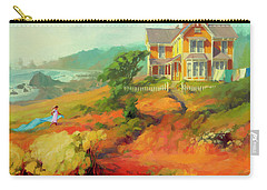 Carry-all Pouch featuring the painting Wild Child by Steve Henderson