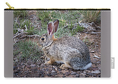 Wild Colorado Cottontail In The Brush Carry-all Pouch
