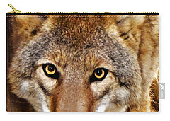 Wild Coyote Carry-all Pouch by Adam Olsen