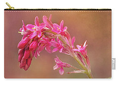 Carry-all Pouch featuring the photograph Wild Currant Blossom by Mary Jo Allen