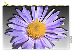 Carry-all Pouch featuring the photograph Wild Daisy by Shane Bechler