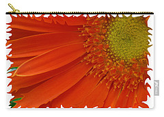 Carry-all Pouch featuring the photograph Wild Daisy by Shari Jardina