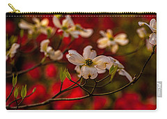 Wild Dogwood And Red Azaleas Carry-all Pouch
