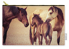 Wild Family Carry-all Pouch by Mary Hone