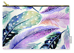 Wild Feathers Carry-all Pouch